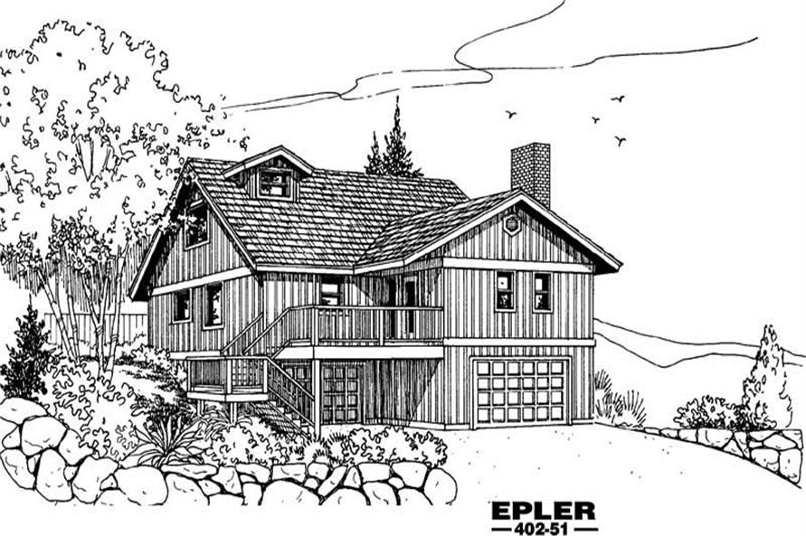 Main image for house plan # 4239
