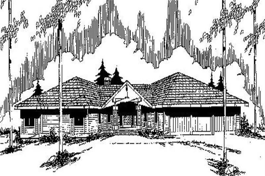 Main image for house plan # 6764