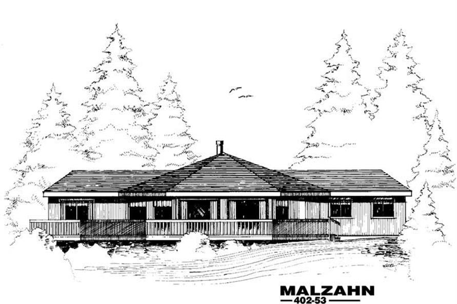 Main image for house plan # 4240