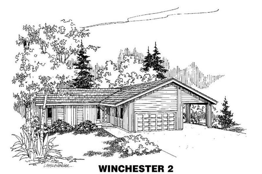 Main image for house plan # 4229