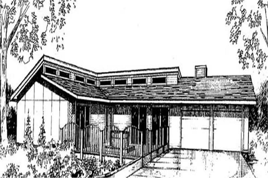 Main image for house plan # 9026