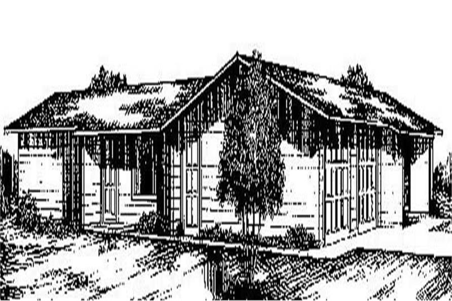 Main image for house plan # 8930