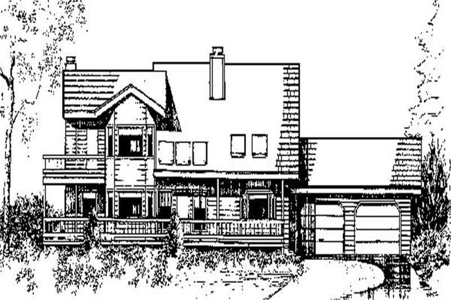 Main image for house plan # 8971