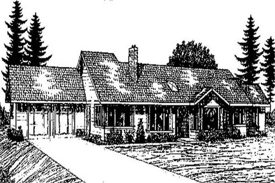 Main image for house plan # 8935