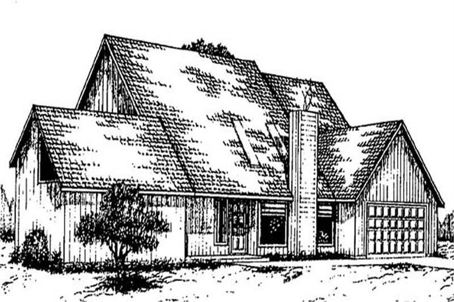 Main image for house plan # 8931