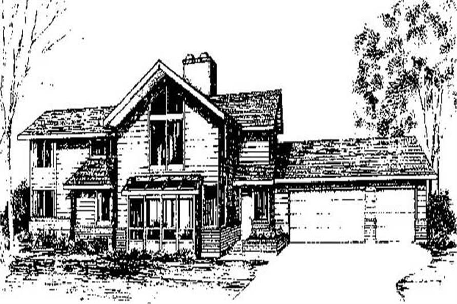 Main image for house plan # 9028