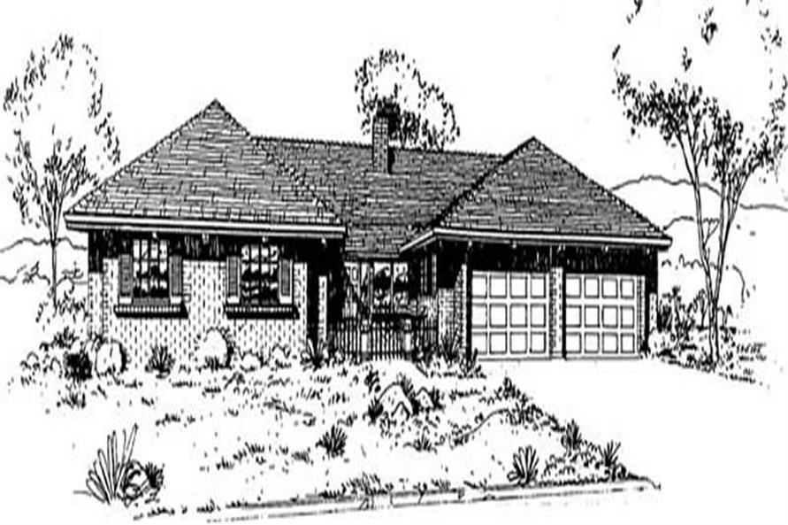 Main image for house plan # 9032