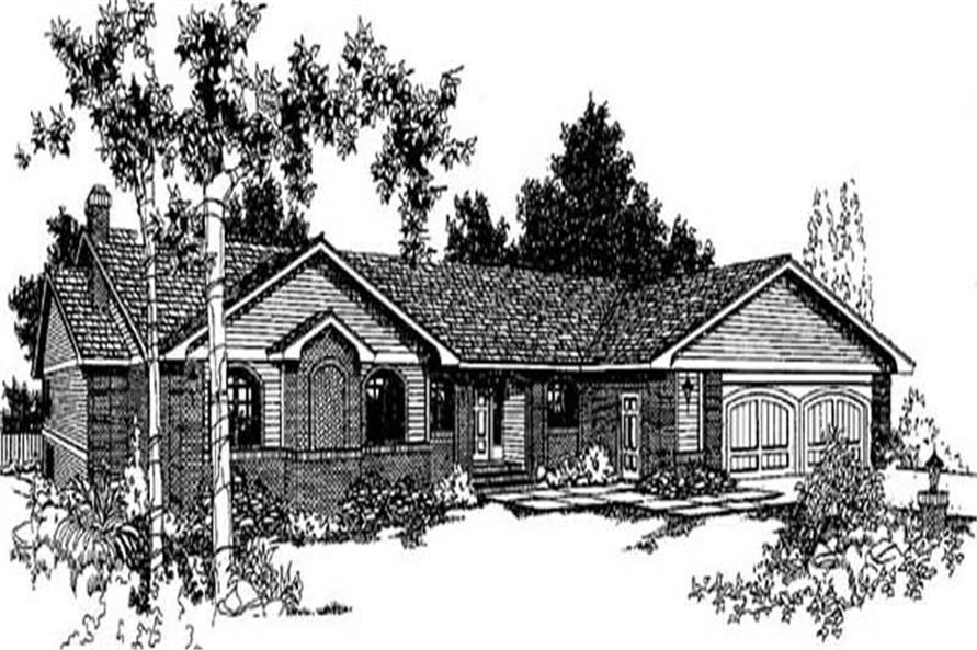 Main image for house plan # 9003
