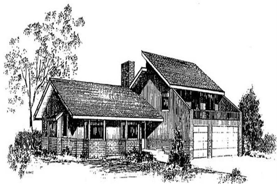 Main image for house plan # 9017