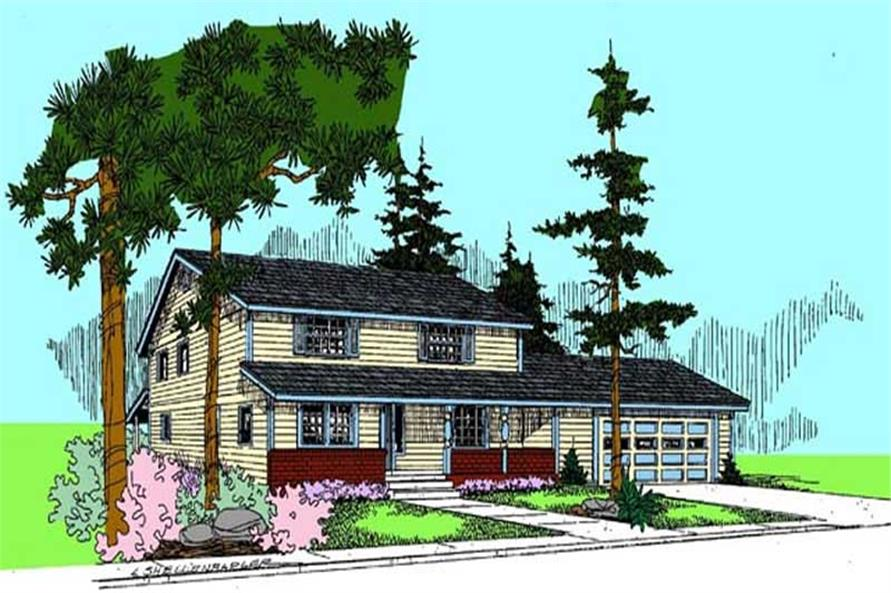 Main image for house plan # 9108