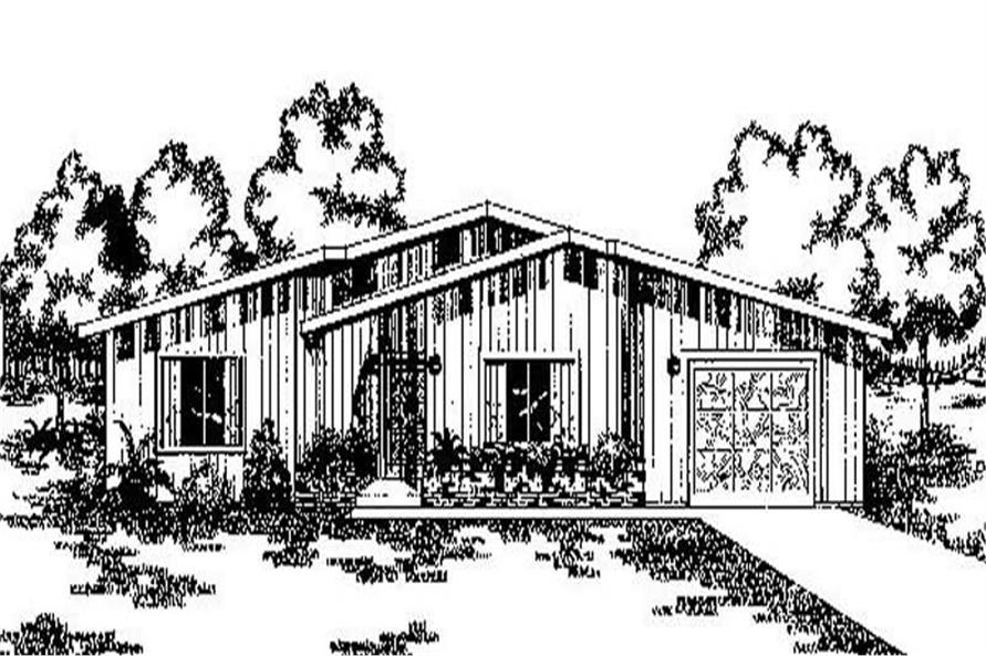 Main image for house plan # 8926