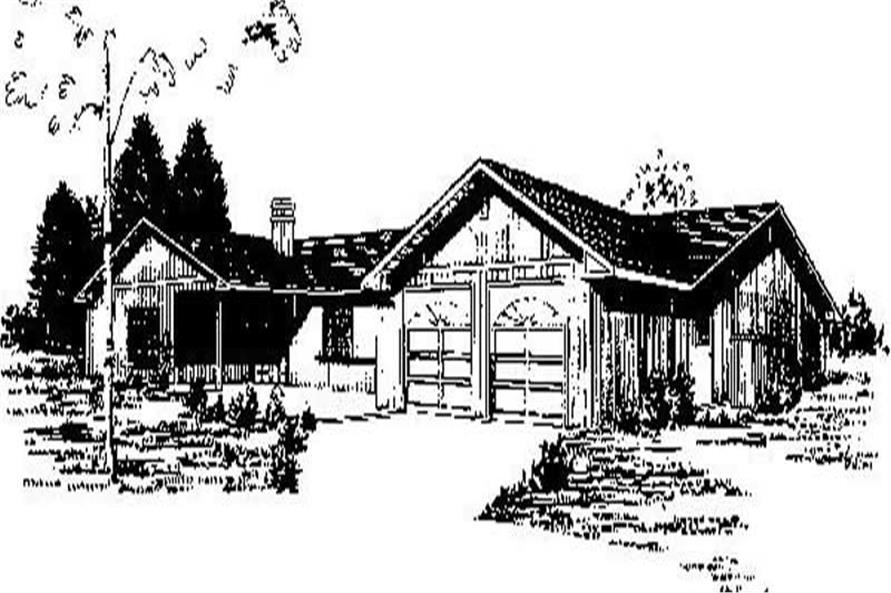 Main image for house plan # 8995