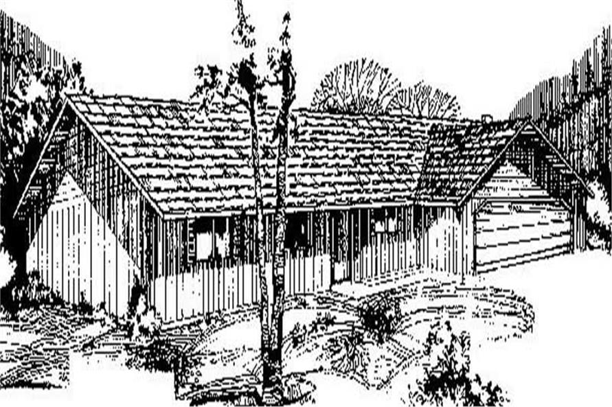 Main image for house plan # 8863
