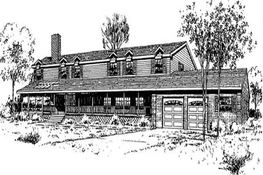 Main image for house plan # 9034