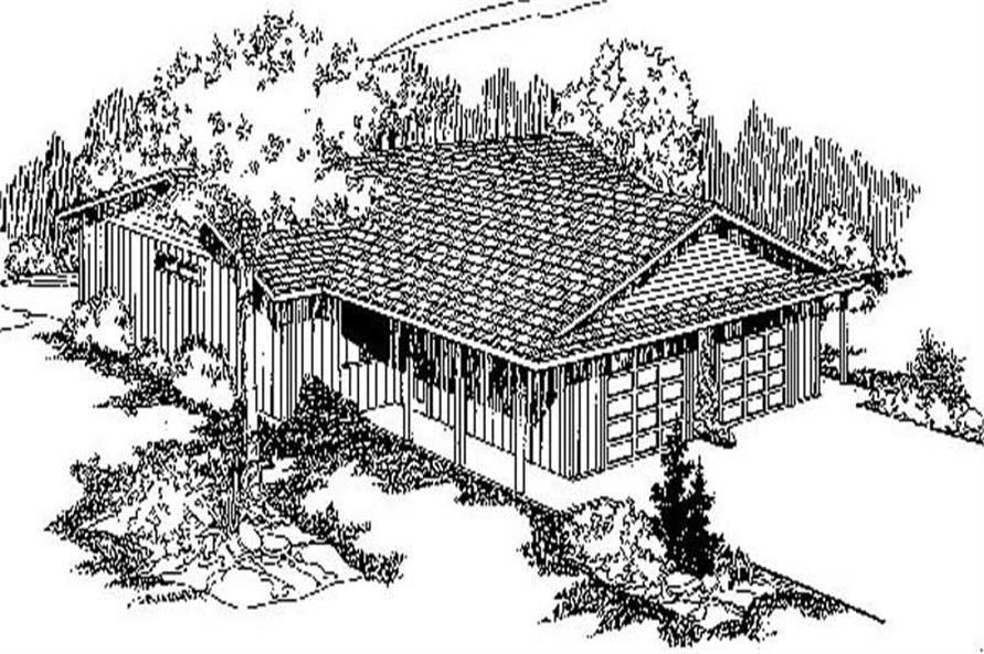 Main image for house plan # 8988