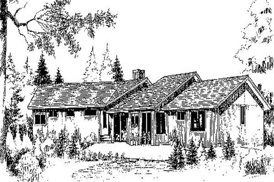 Main image for house plan # 8977