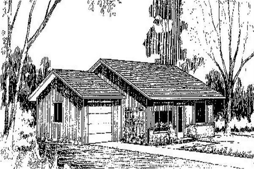 Main image for house plan # 8975