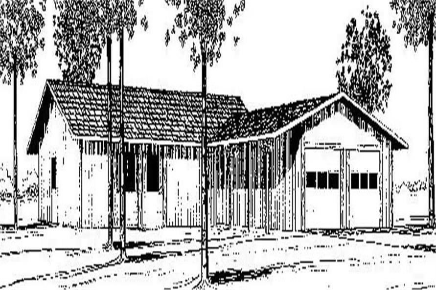 Main image for house plan # 8948