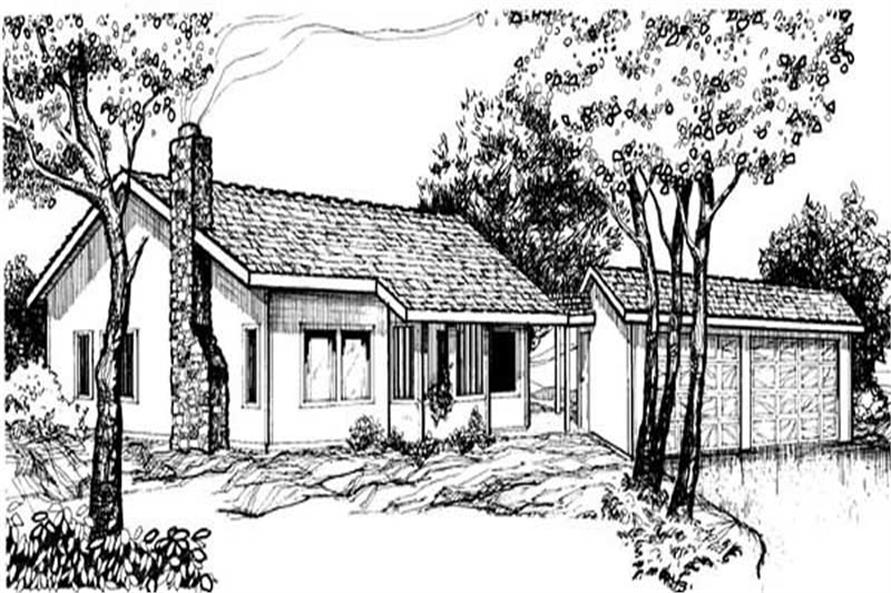 Main image for house plan # 8922