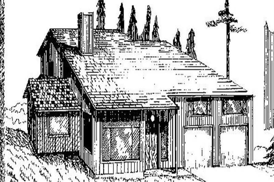 Main image for house plan # 8905