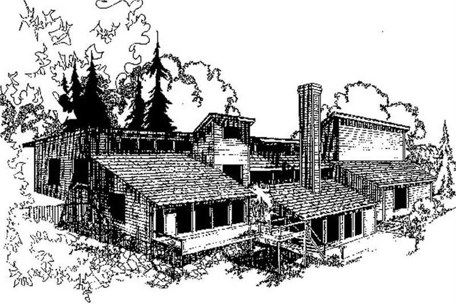 Main image for house plan # 8843