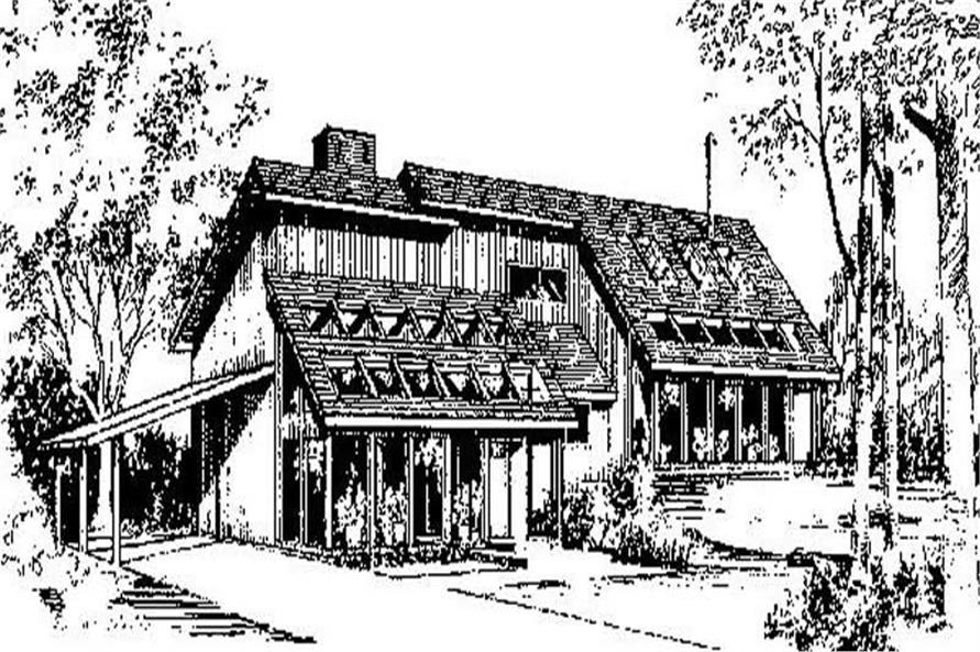 Main image for house plan # 8972