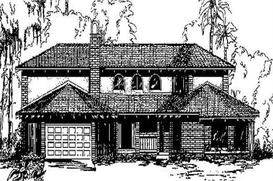 Main image for house plan # 9135