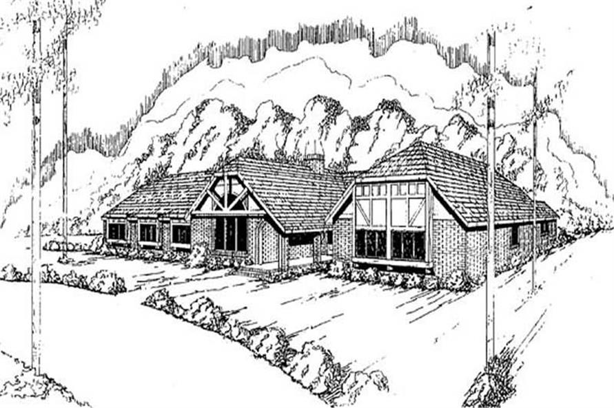 Main image for house plan # 9137