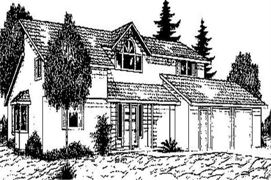 Main image for house plan # 8913
