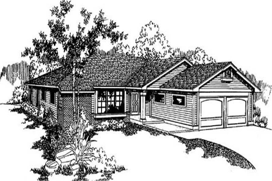 Main image for house plan # 9149