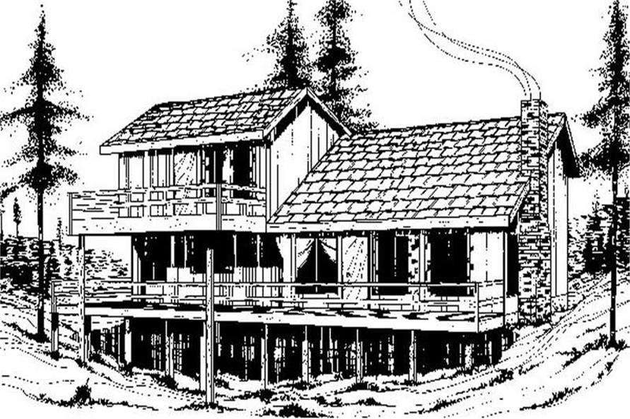 Main image for house plan # 8917