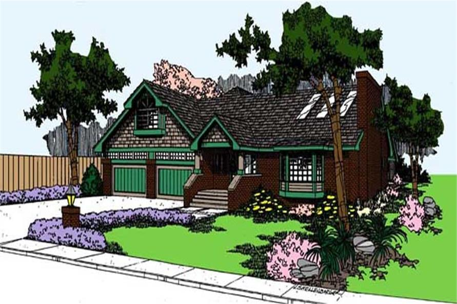 Main image for house plan # 9131