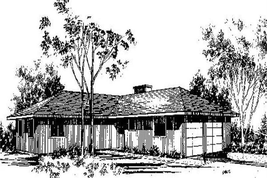 Main image for house plan # 8968