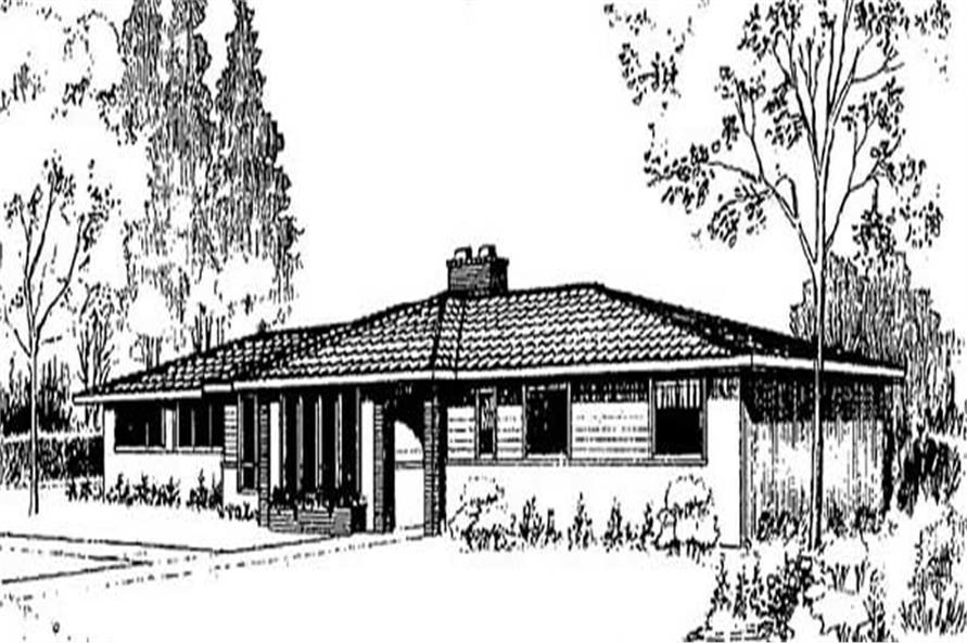 Main image for house plan # 9029
