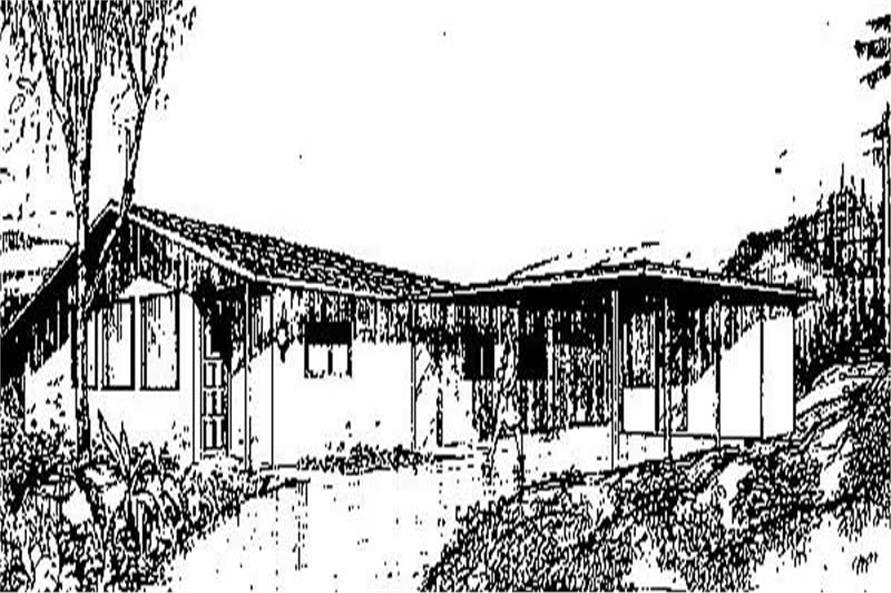 Main image for house plan # 8882