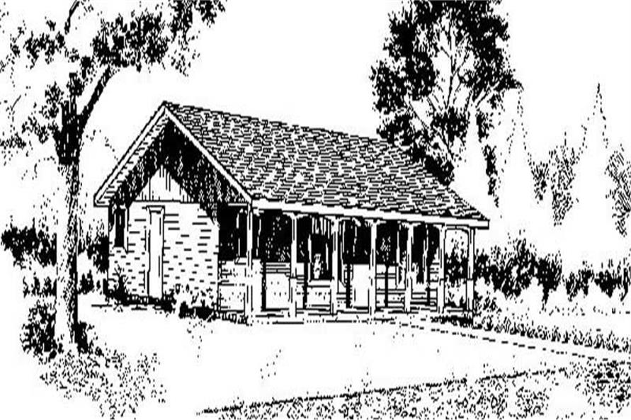 Main image for house plan # 8974