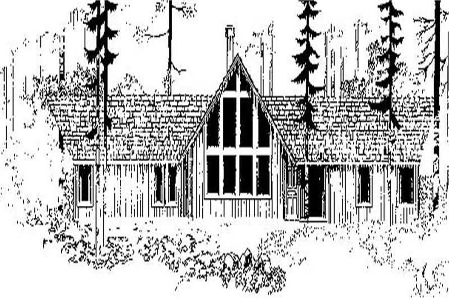 Main image for house plan # 8918