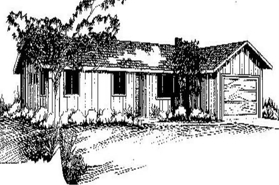 Main image for house plan # 8952