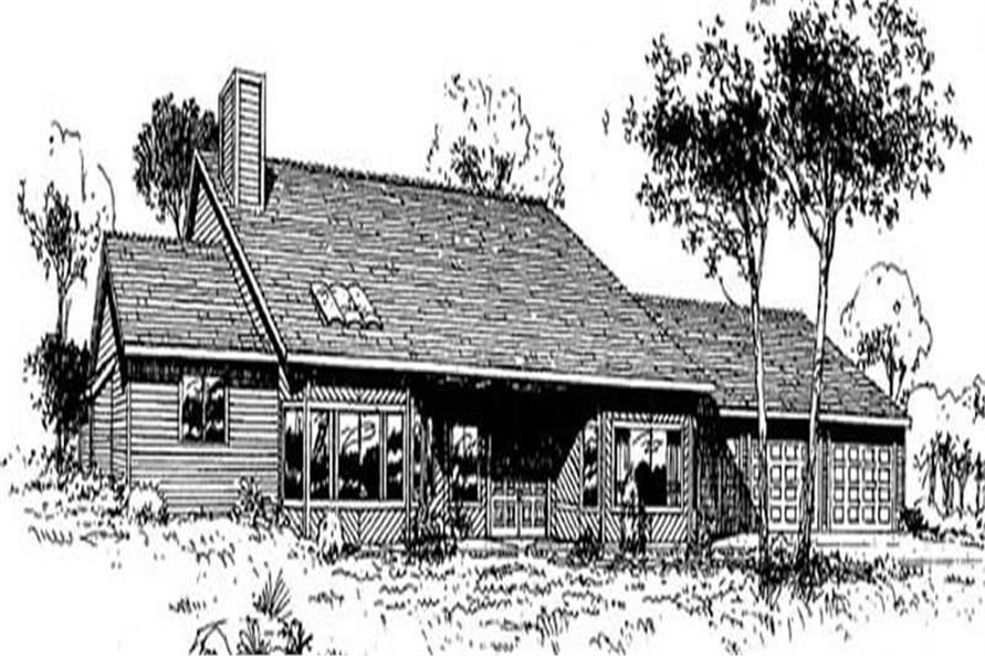 Main image for house plan # 9117