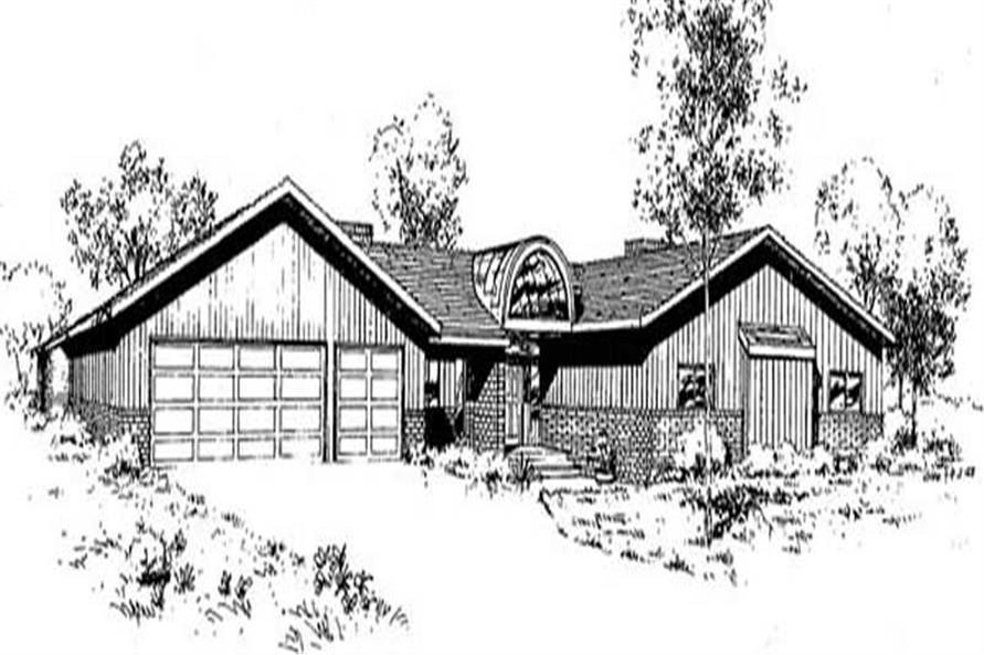 Main image for house plan # 9036