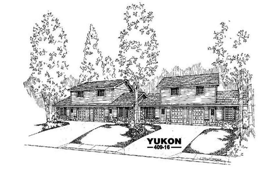 Main image for house plan # 9063