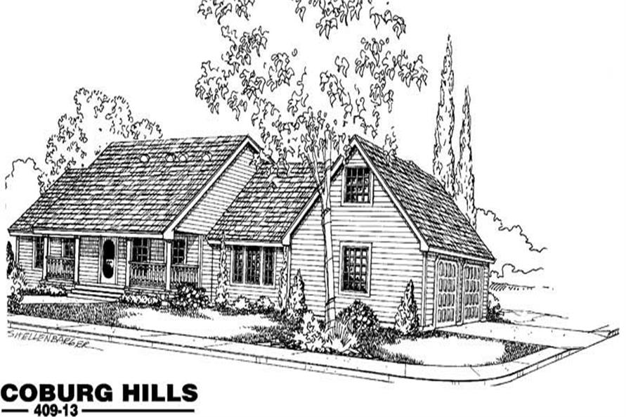 Main image for house plan # 9065