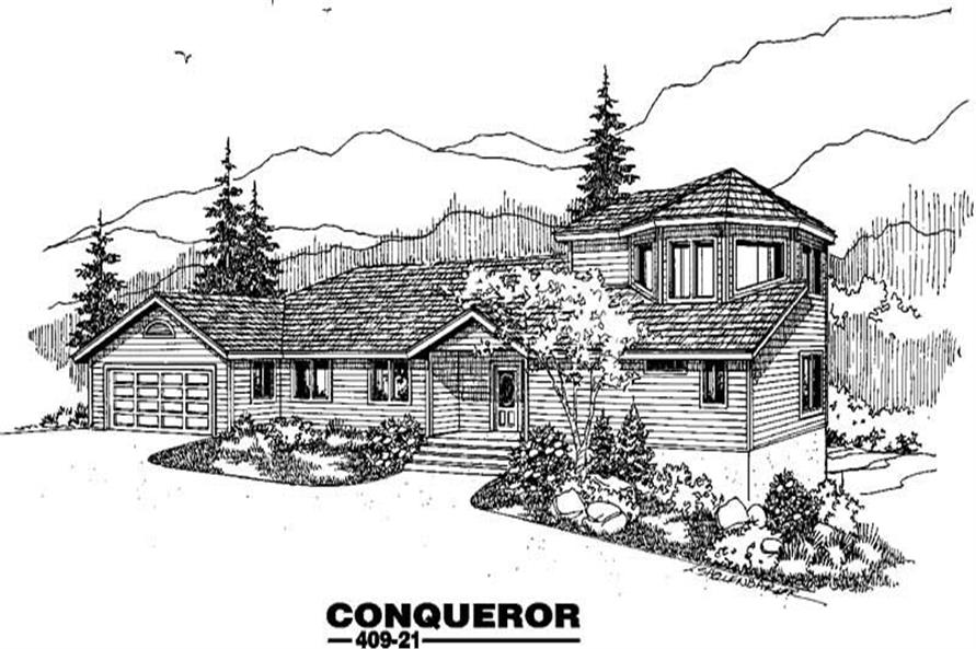 Main image for house plan # 9060