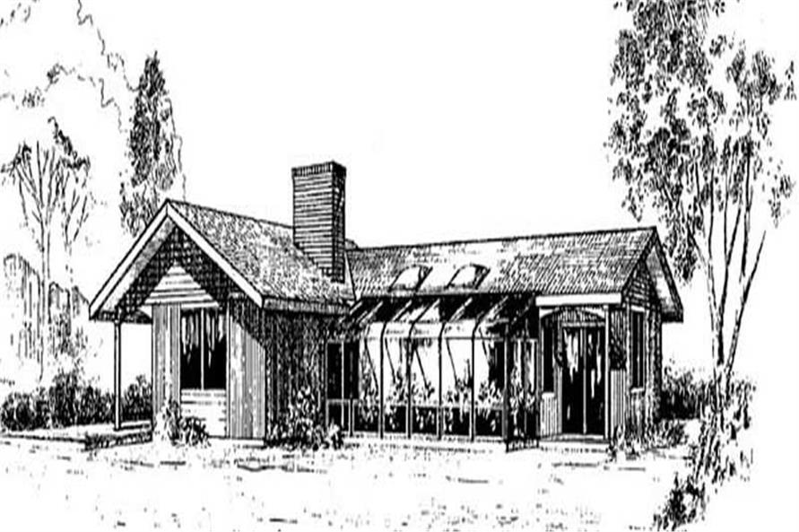 Main image for house plan # 9016