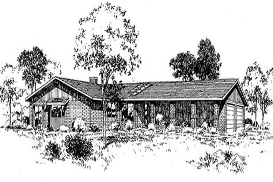 Main image for house plan # 9039