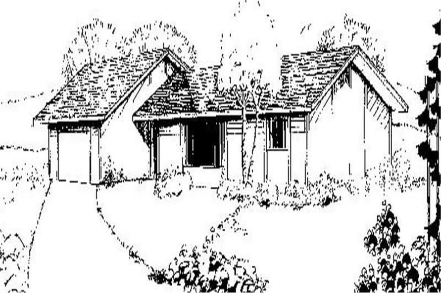 Main image for house plan # 8865