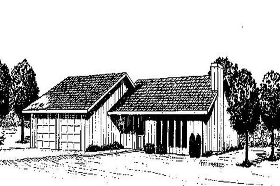 Main image for house plan # 8949