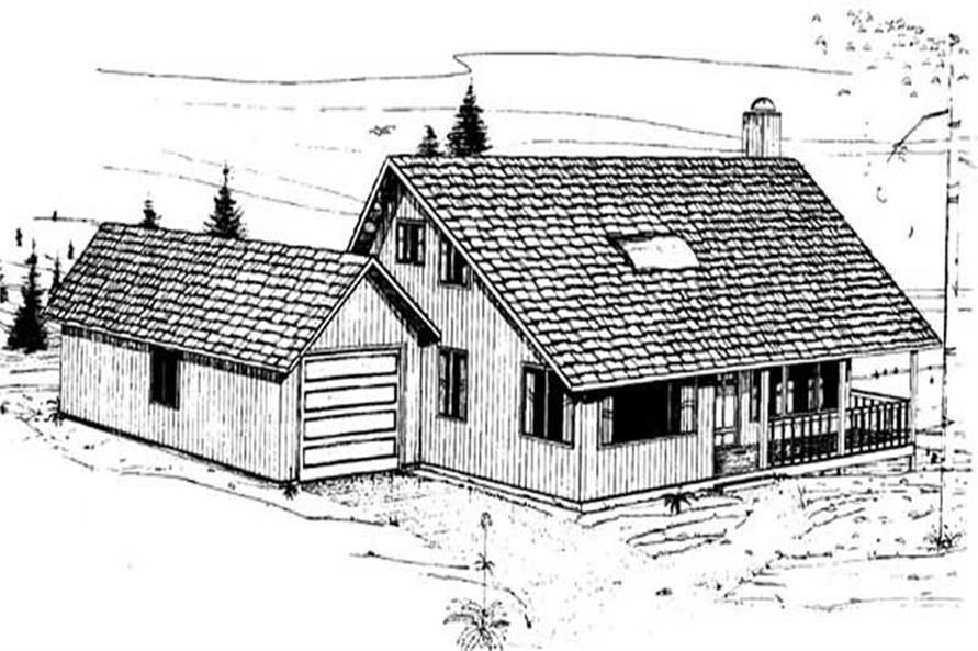 Main image for house plan # 8887