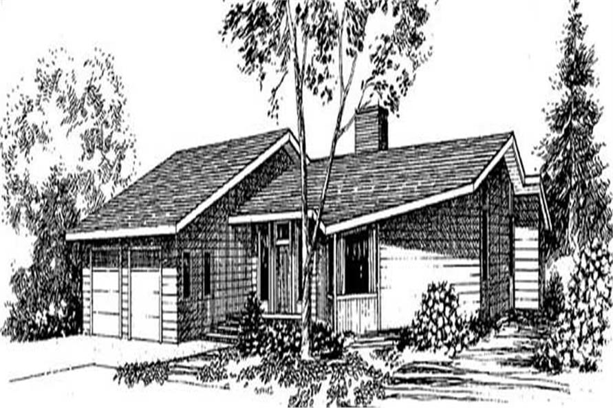 Main image for house plan # 9023