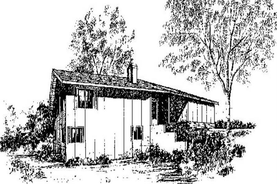 Main image for house plan # 8976